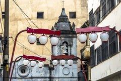 De Kerk van Dos Aflitos van Nossasenhora Stock Foto