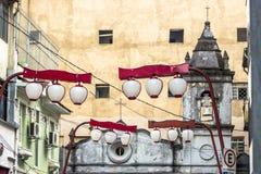 De Kerk van Dos Aflitos van Nossasenhora Stock Foto's