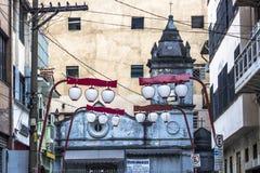 De Kerk van Dos Aflitos van Nossasenhora Royalty-vrije Stock Afbeelding