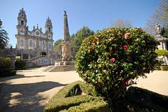 De kerk van Dos Remedios van Nossa Senhora. Royalty-vrije Stock Foto