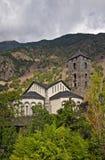 De kerk van Esteve van Sant Stock Afbeeldingen