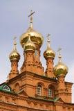 De kerk van Feodosievskaya Royalty-vrije Stock Fotografie