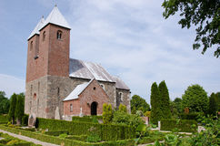 De Kerk van Fjenneslev Royalty-vrije Stock Fotografie