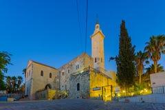 De Kerk van de Geboorte van Christus van St John Doopsgezind stock fotografie