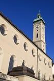De kerk van Geist van Heilig in München Royalty-vrije Stock Afbeeldingen