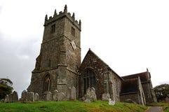 De Kerk van Godshill Stock Foto