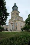 De kerk van Gothenburg met brede hoek stock foto