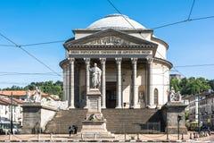 De Kerk van Granmadre in Turijn, Italië Royalty-vrije Stock Foto