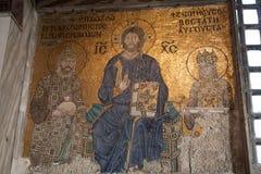 De kerk van Hagiasophia omgezet aan moskee Stock Afbeelding