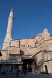 De kerk van Hagiasophia omgezet aan moskee Stock Fotografie