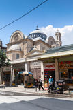 De kerk van Hagiatriada in Istanboel, Turkije Royalty-vrije Stock Foto
