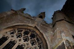 De kerk van Halloween Royalty-vrije Stock Fotografie