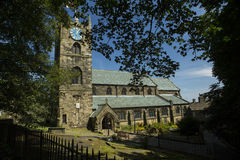 De Kerk van Haworth Stock Foto