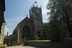 De Kerk van Haworth Stock Afbeeldingen