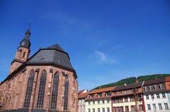 De kerk van Heidelberg royalty-vrije stock foto