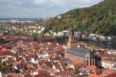 De kerk van Heidelberg van de heilige geest Duitsland royalty-vrije stock foto