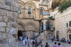 De kerk van heilig begraaft stock foto's