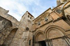 De kerk van Heilig begraaft, Israël royalty-vrije stock fotografie