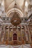 De kerk van heilig begraaft jeruzalem israël Royalty-vrije Stock Foto