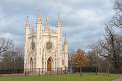 De kerk van heilige Alexander Nevsky Orthodox. Heilige Petersburg. Rusland Stock Fotografie