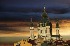 De Kerk van heilige Andrew Stock Fotografie