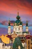De Kerk van heilige Andrew Stock Foto's