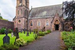 De Kerk van heilige Andrew ` s in Fort William, Schotland Royalty-vrije Stock Foto