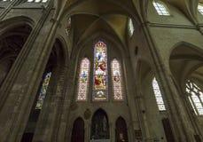 De kerk van heilige Antoine, Compiegne, Oise, Frankrijk Royalty-vrije Stock Foto's