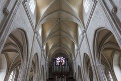 De kerk van heilige Antoine, Compiegne, Oise, Frankrijk Royalty-vrije Stock Afbeeldingen
