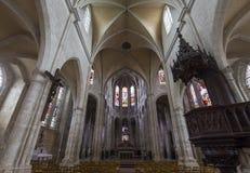 De kerk van heilige Antoine, Compiegne, Oise, Frankrijk Royalty-vrije Stock Fotografie