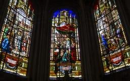 De kerk van heilige Antoine, Compiegne, Oise, Frankrijk Royalty-vrije Stock Foto