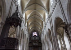 De kerk van heilige Antoine, Compiegne, Oise, Frankrijk Royalty-vrije Stock Afbeelding