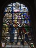 De kerk van heilige Antoine, Compiegne, Oise, Frankrijk Stock Afbeeldingen