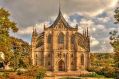 De Kerk van heilige Barbaras Royalty-vrije Stock Afbeelding