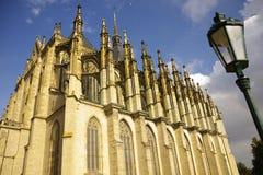 De Kerk van heilige Barbaras Stock Afbeelding