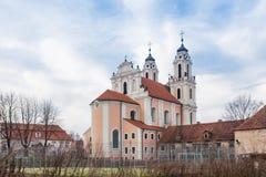 De Kerk van Heilige Catherine stock afbeeldingen