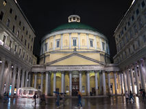 De kerk van heilige Charles Borromeo, Milaan, Italië Stock Afbeeldingen