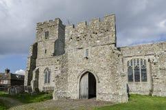 De Kerk van heilige George, Ivychurch, Kent Royalty-vrije Stock Foto