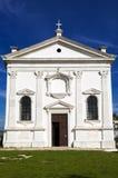 De kerk van heilige George in Piran Royalty-vrije Stock Foto's