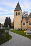 De kerk van heilige Lambertus in Gestel, Berlaar, Antwerpen Stock Foto