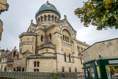 De kerk van heilige Martin in Reizen Royalty-vrije Stock Afbeeldingen