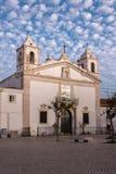 De kerk van Heilige Mary Igreja Santa Maria in Lagos, Portugal Royalty-vrije Stock Foto