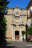 De kerk van heilige Matthew, Tarifa Stock Afbeeldingen