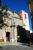De kerk van heilige Matthew, Tarifa Stock Fotografie