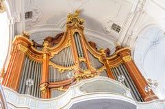 De Kerk van heilige Michael's in Hamburg Royalty-vrije Stock Afbeeldingen