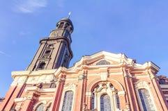 De Kerk van heilige Michael's in Hamburg Royalty-vrije Stock Foto's