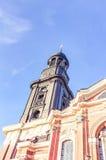 De Kerk van heilige Michael's in Hamburg Royalty-vrije Stock Afbeelding