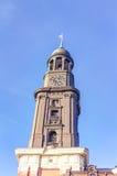 De Kerk van heilige Michael's in Hamburg Royalty-vrije Stock Fotografie