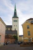 De kerk van heilige Olaf Stock Afbeelding