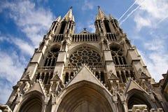 De kerk van heilige Vincent DE Paul in Marseille, Frankrijk Stock Foto